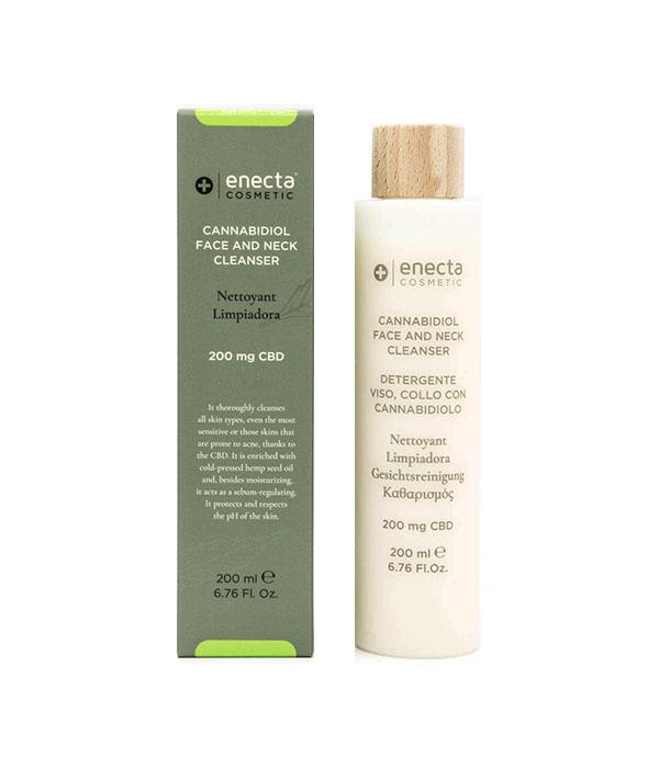 Лосион за почистване на лице 200 mg CBD Enecta