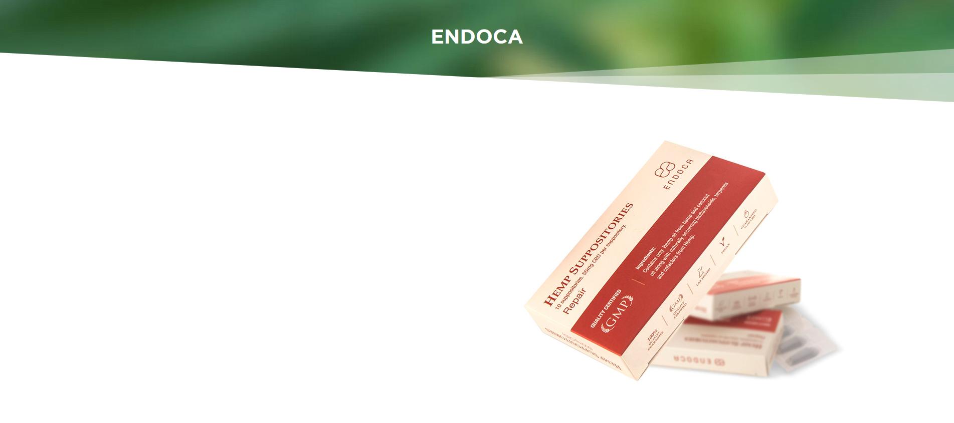 Ендока - Био конопено и кокосово масло - 50 mg CBD
