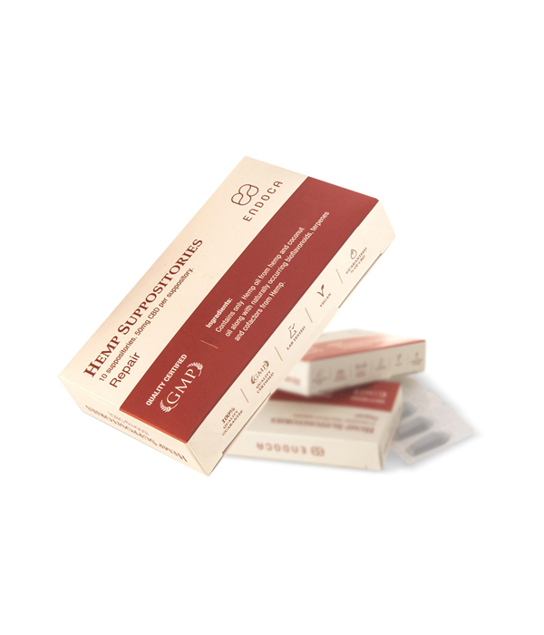 CBD супозитории - 500 mg CBD