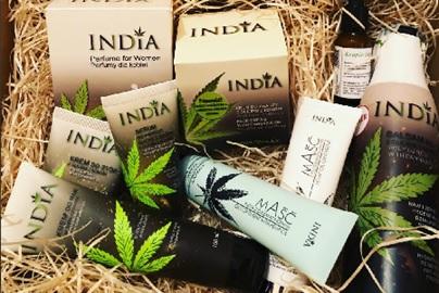 Продукти от коноп на Индия