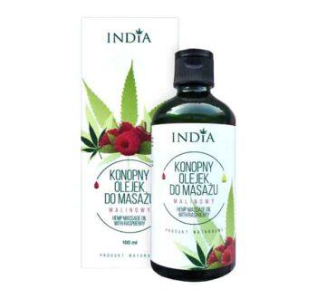 Масажно масло с коноп с малина Индия Козметикс India Cosmetics