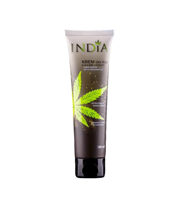 Крем за ръце с конопено масло от India Cosmetics