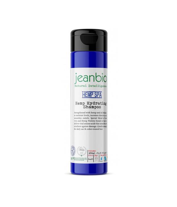 JeanBio Хидратиращ шампоан за коса с коноп - 250 ml