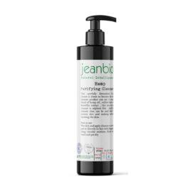 JeanBio Гел за лице за дълбоко почистване с коноп – 250 ml