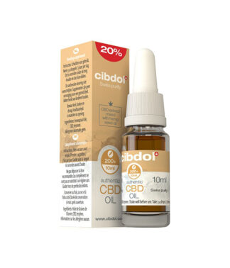 Масло от коноп CIBDOL - 20% CBD