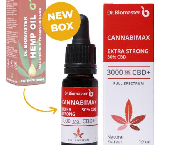 Конопено масло Cannabimax Extra Strong - 30% CBD