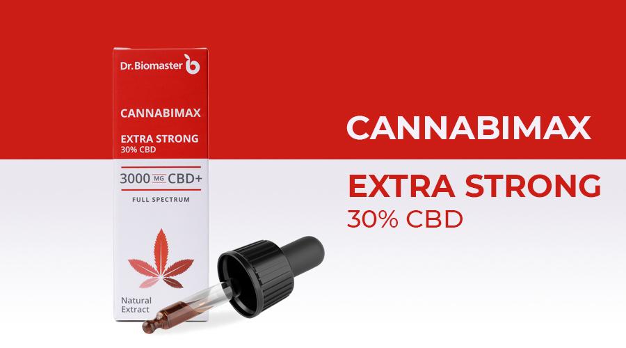CBD конопено масло Cannabimax Extra Strong - масло от канабис с 30% CBD