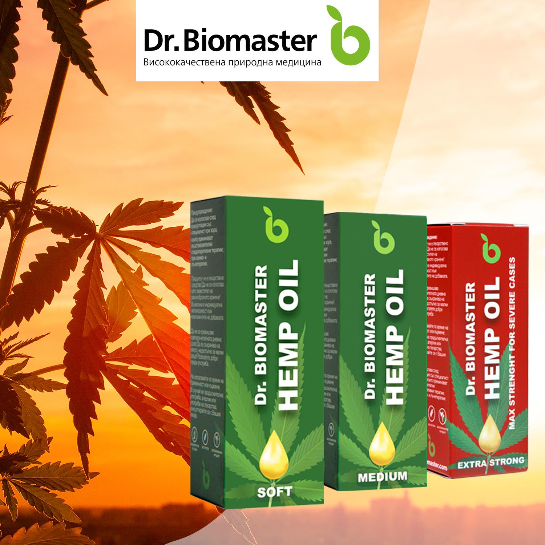CBD продукти от Др. Биомастер