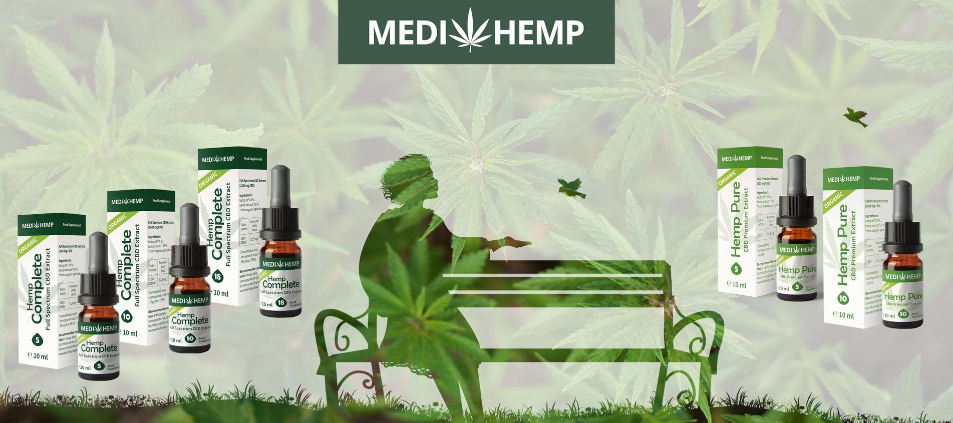 CBD продукти от Медихемп