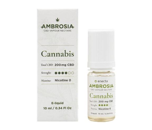 CBD течност за вейп Енекта - AMBROSIA CANNABIS - 200 mg
