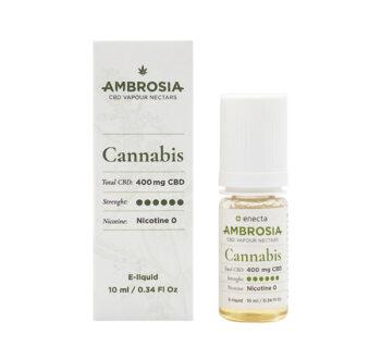 CBD течност за вейп Енекта - AMBROSIA CANNABIS - 400 mg