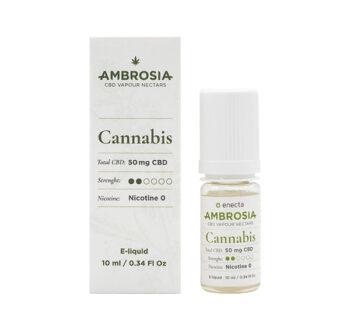 CBD течност за вейп Енекта - AMBROSIA CANNABIS