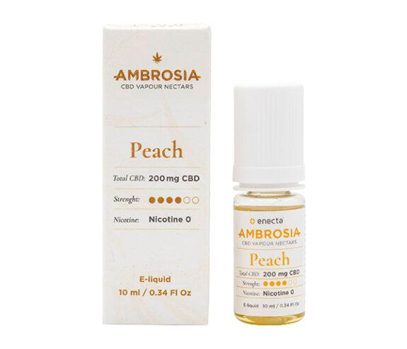 CBD течност за вейп Енекта - AMBROSIA PEACH - 200 mg