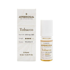 CBD течност за вейп Енекта - AMBROSIA TOBACCO - 200 mg