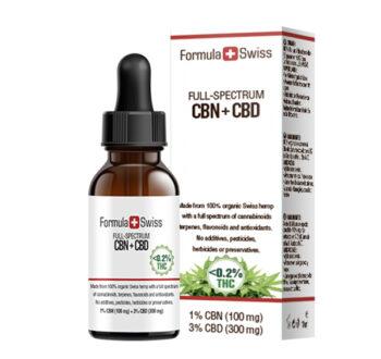 CBN+CBD масло FORMULA SWISS