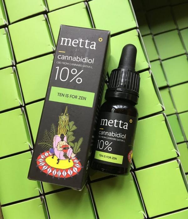METTA 10% CBD - Ten Is For Zen