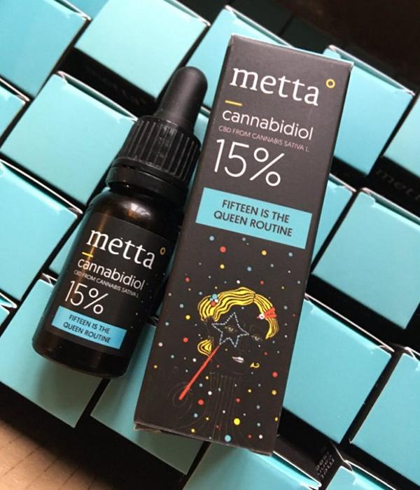 METTA 15% CBD - Fifteen Is The Queen Routine