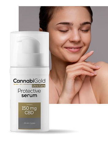 Защитен серум против стареене 150 mg CBD