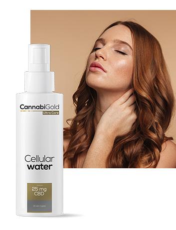 Клетъчна вода спрей 25 mg CBD