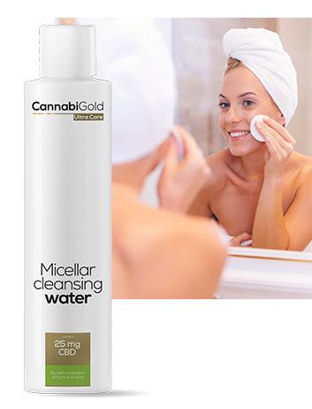 Мицеларна вода за мазна кожа Канабиголд 25 mg CBD