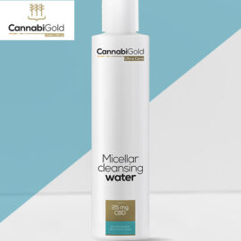 Мицеларна вода за суха кожа Канабиголд CannabiGold