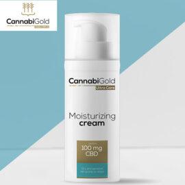 Хидратиращ крем за суха чувствителна и атопична кожа Канабиголд Cannabigold