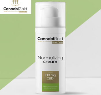 Хидратиращ крем за мазна кожа Канабиголд 100 mg CBD