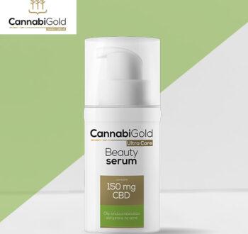 Озаряващ серум за лице Канабиголд за мазна кожа 150 mg CBD