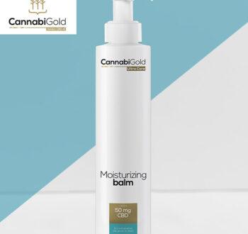 Хидратиращ лосион за тяло CannabiGold 50 mg CBD