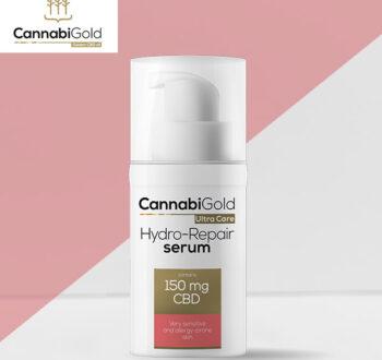 Хидратиращ серум за чувствителна кожа CannabiGold