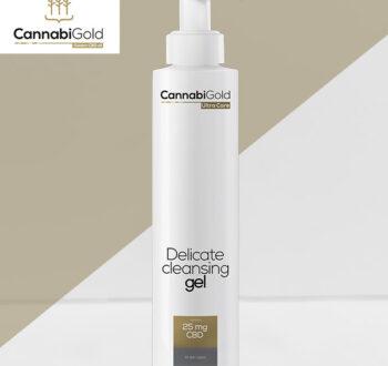 Измиващ гел за лице CannabiGold 25 mg CBD