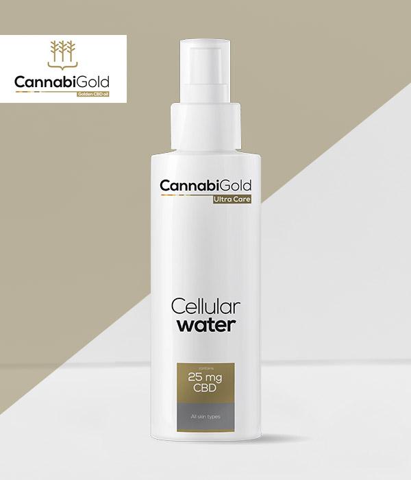 Клетъчната вода на CannabiGold - спрей
