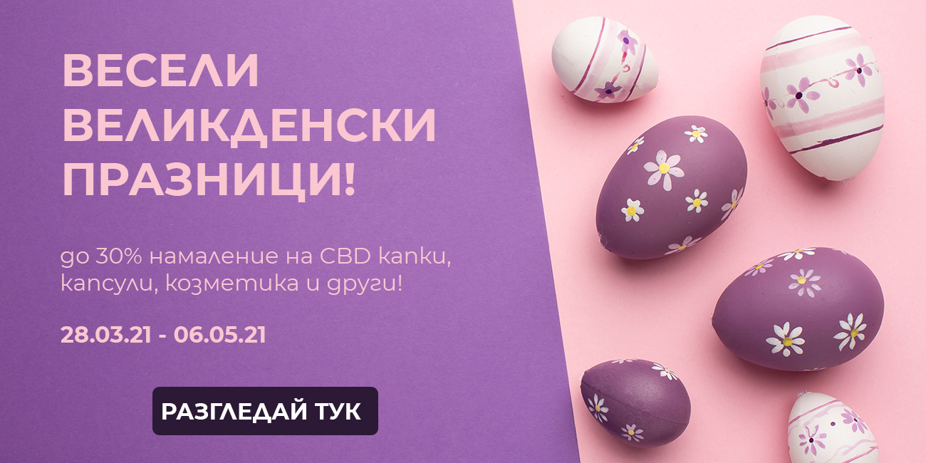 Великденска промоция - 2021 г.