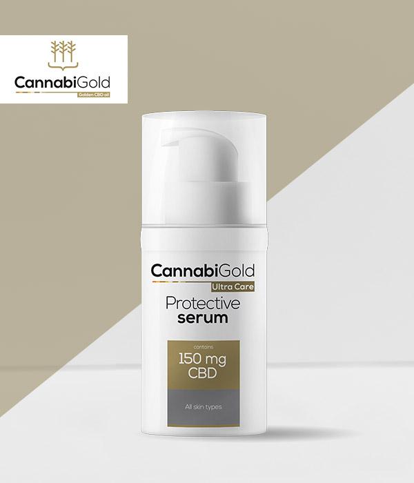 Защитен серум против стареене CannabiGold 150 mg CBD